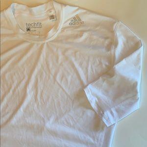 Adidas techfit climalite compression shirt size XL